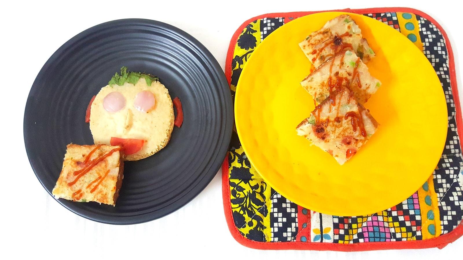 Instant Sooji Toast Recipe