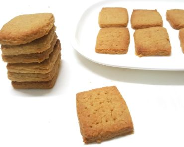 eggless aata biscuits