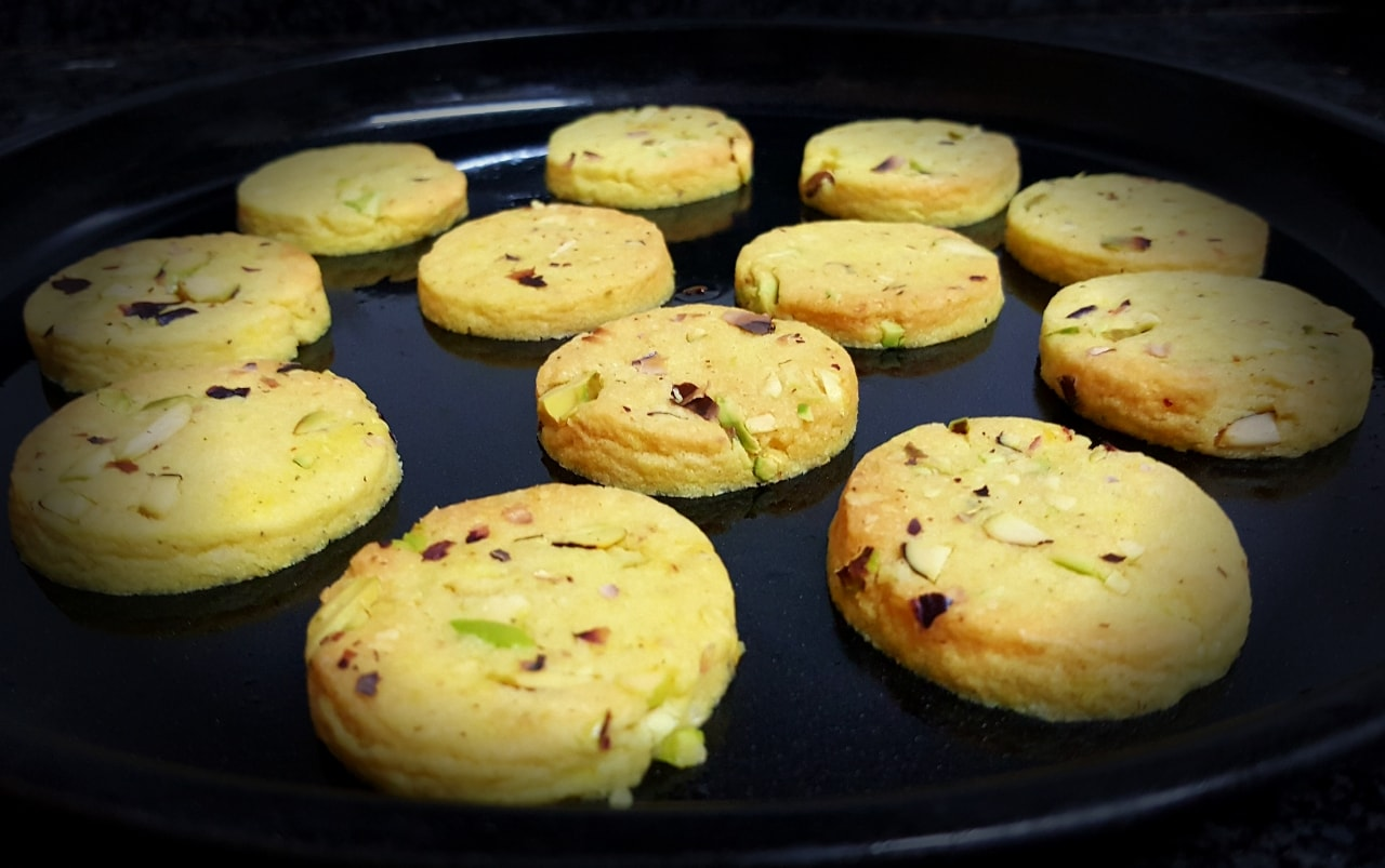 EGGLESS SAFFRON COOKIES RECIPE NOTE