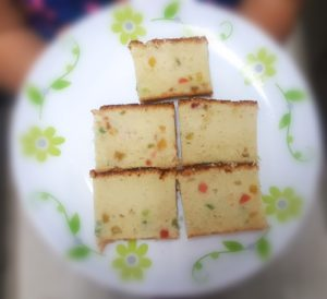 EGGLESS TUTTI FRUTTI CAKE RECIPE NOTE