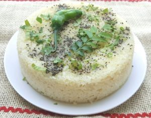 INSTANT SOOJI DHOKLA RECIPE NOTE