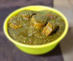 Hariyali Gatte Recipe