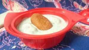 malai kofta in white gravy