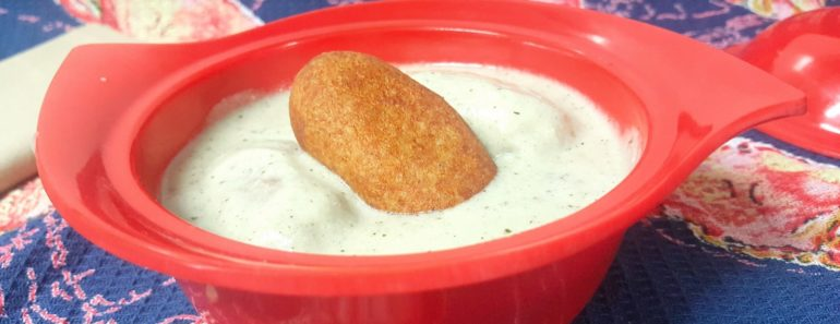 malai kofta in white gravy