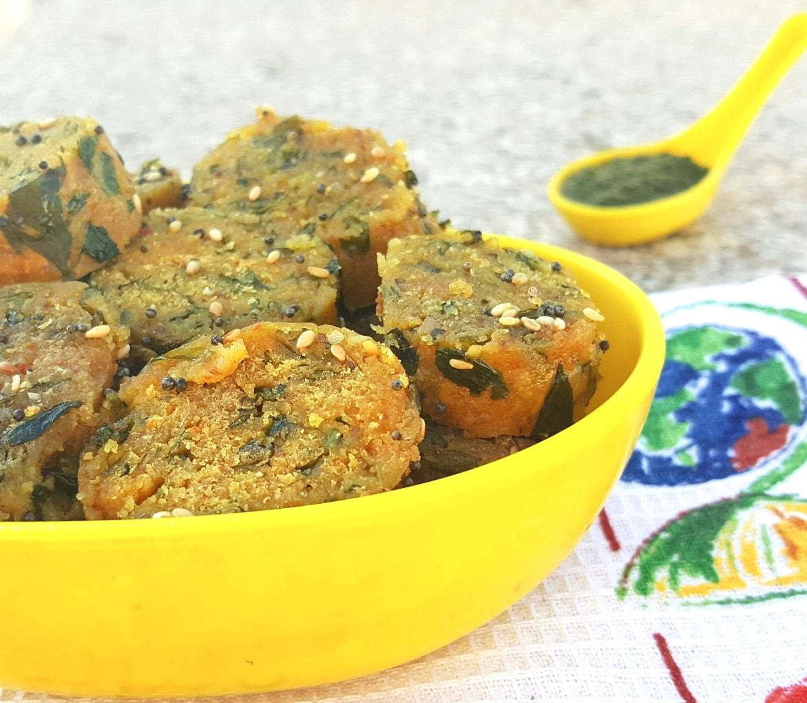 methi muthia recipe