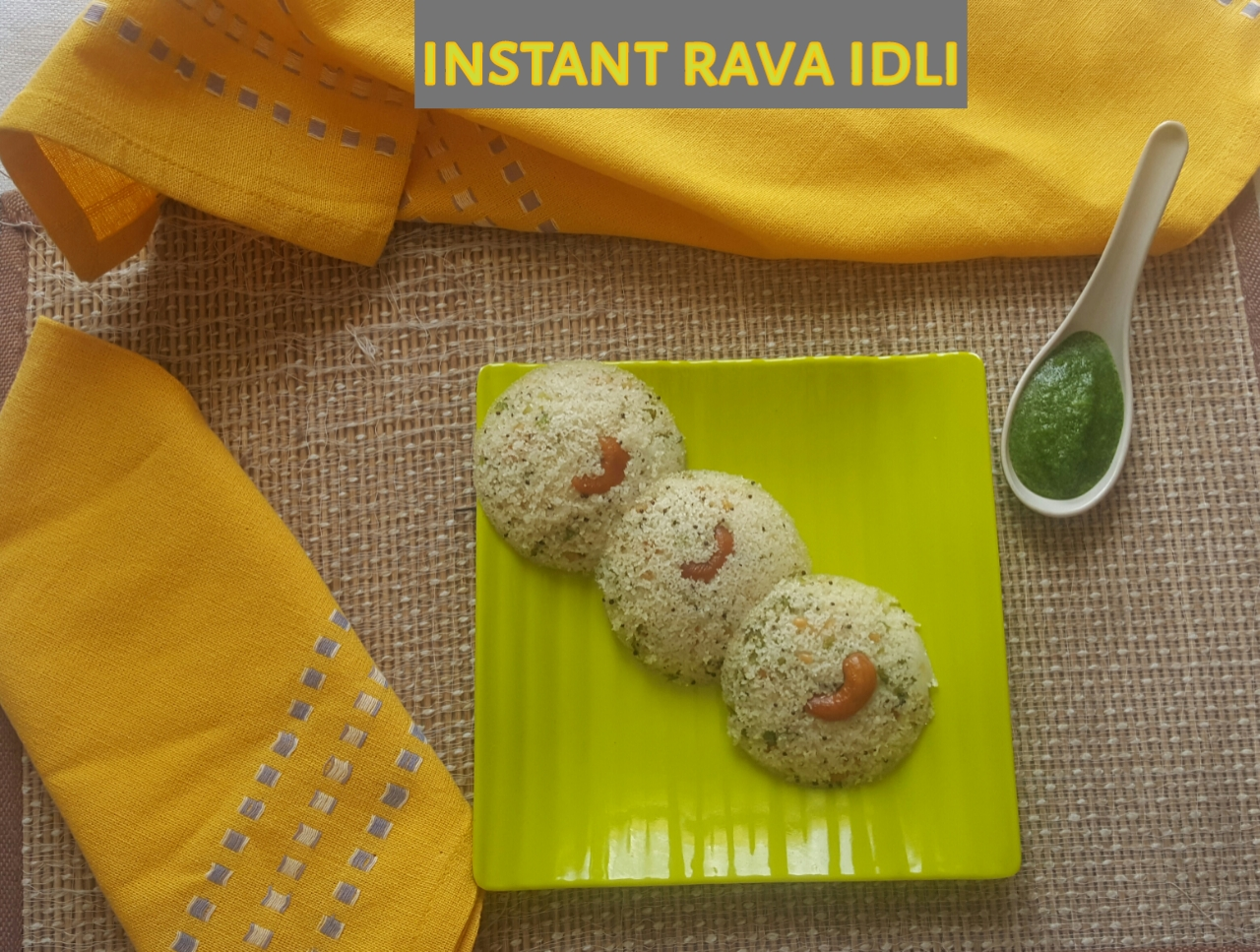 INSTANT RAVA IDLI
