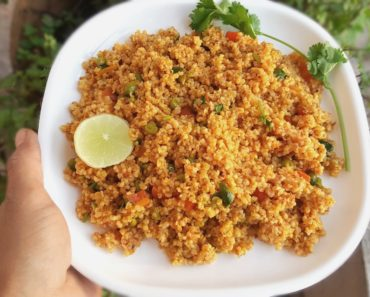 Vegetable Dalia Pulao
