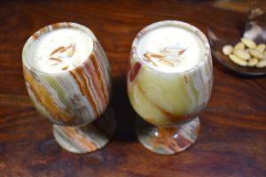 Badam Milkshake Recipe
