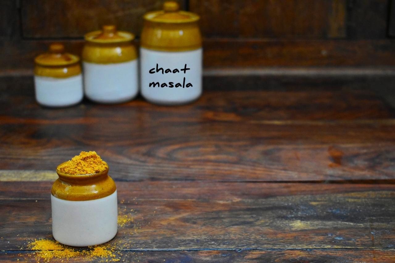 homemade chaat masala
