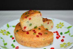 EGGLESS RAVA CAKE