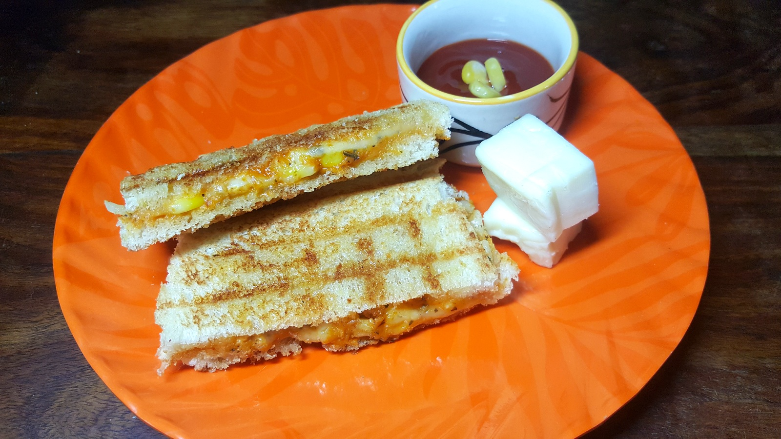 CHEESE CORN SANDWICH