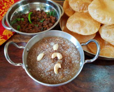 sooji halwa for prasad