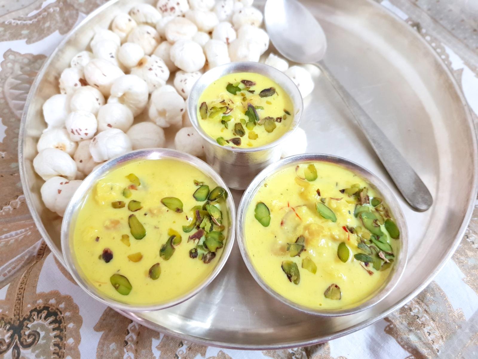 makhana kheer