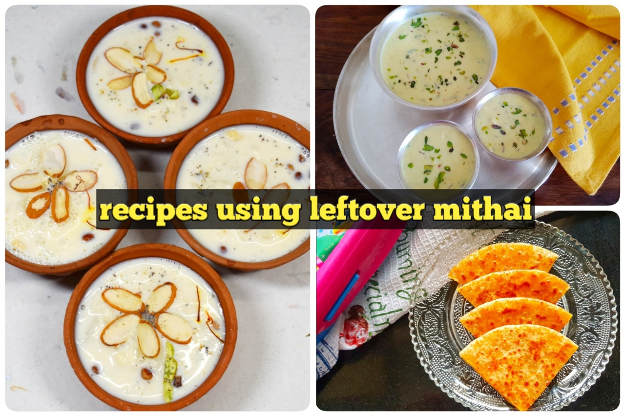 Leftover Mithai Recipe