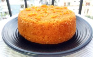 wheat orange cake