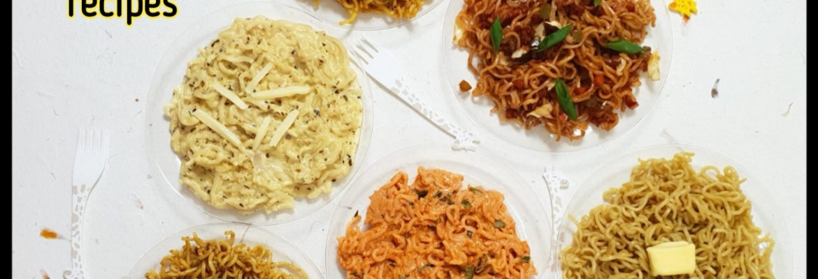 collection of maggi recipes