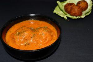 Cabbage Kofta Curry