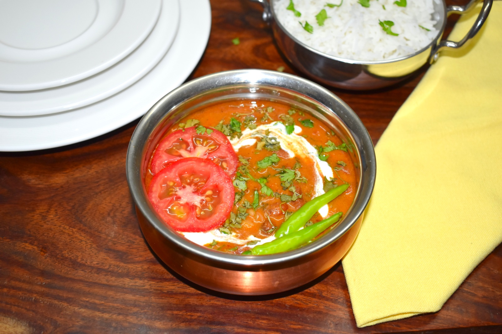 Restaurant Style Rajma