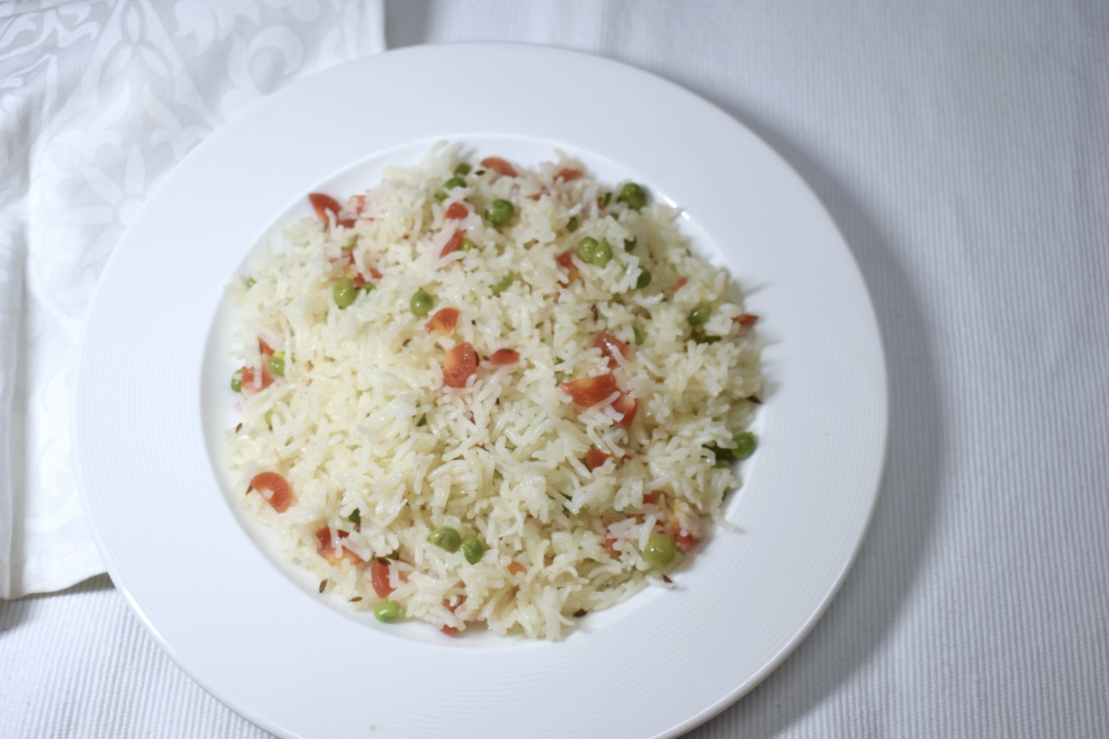 Tricolour Pulao Recipe
