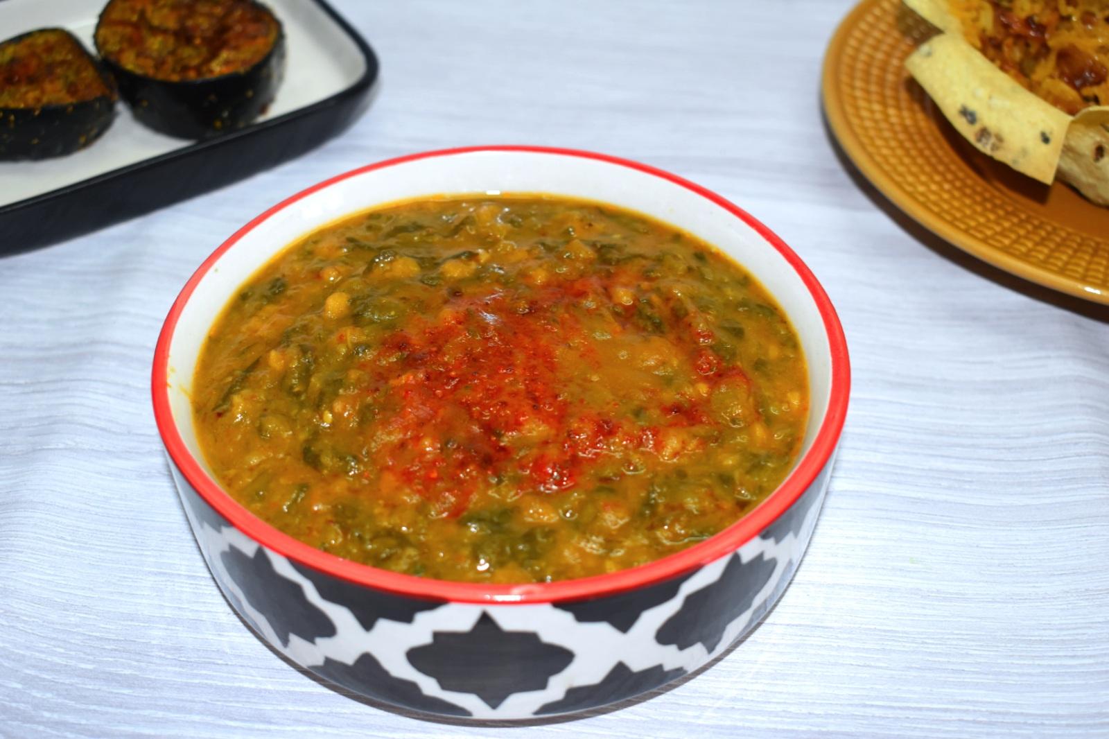 sai bhaji recipe