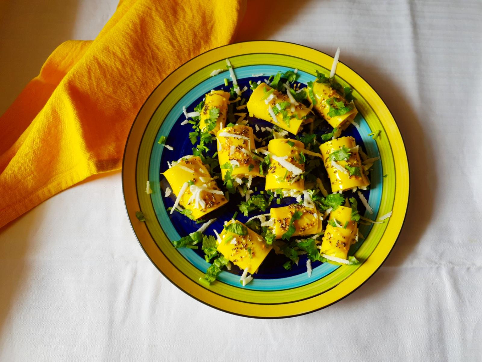 stuffed khandvi