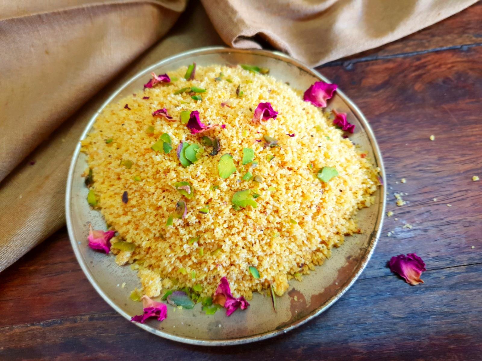 Besan Choorma recipe