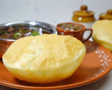 instant bhatura recipe