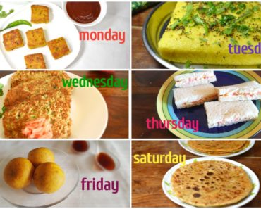 Weekly Tiffin Planner
