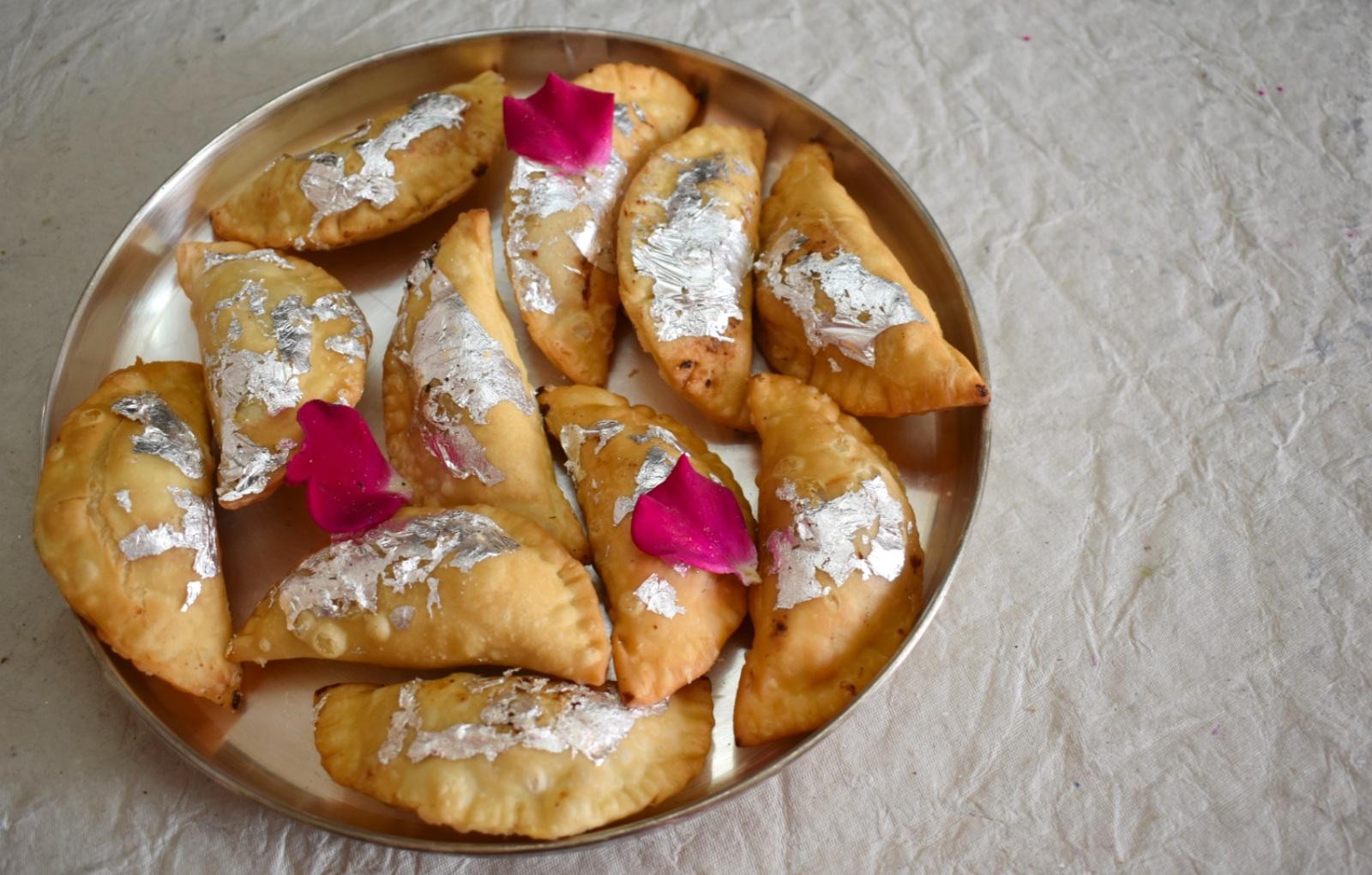 Dough for Gujiya