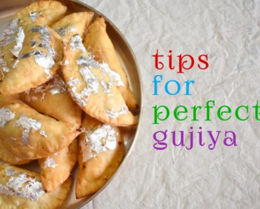 tips for perfect gujiya