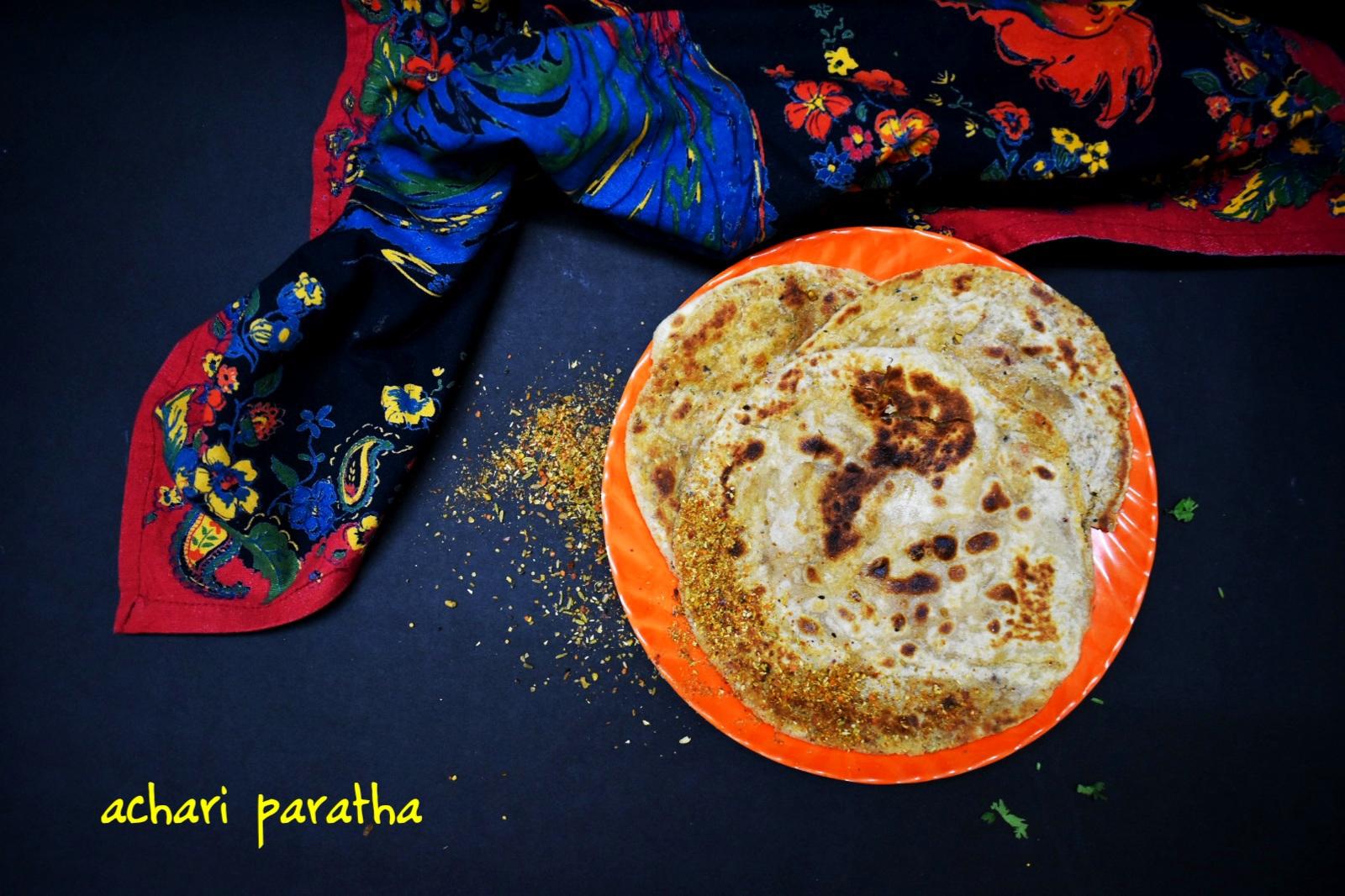 achari paratha