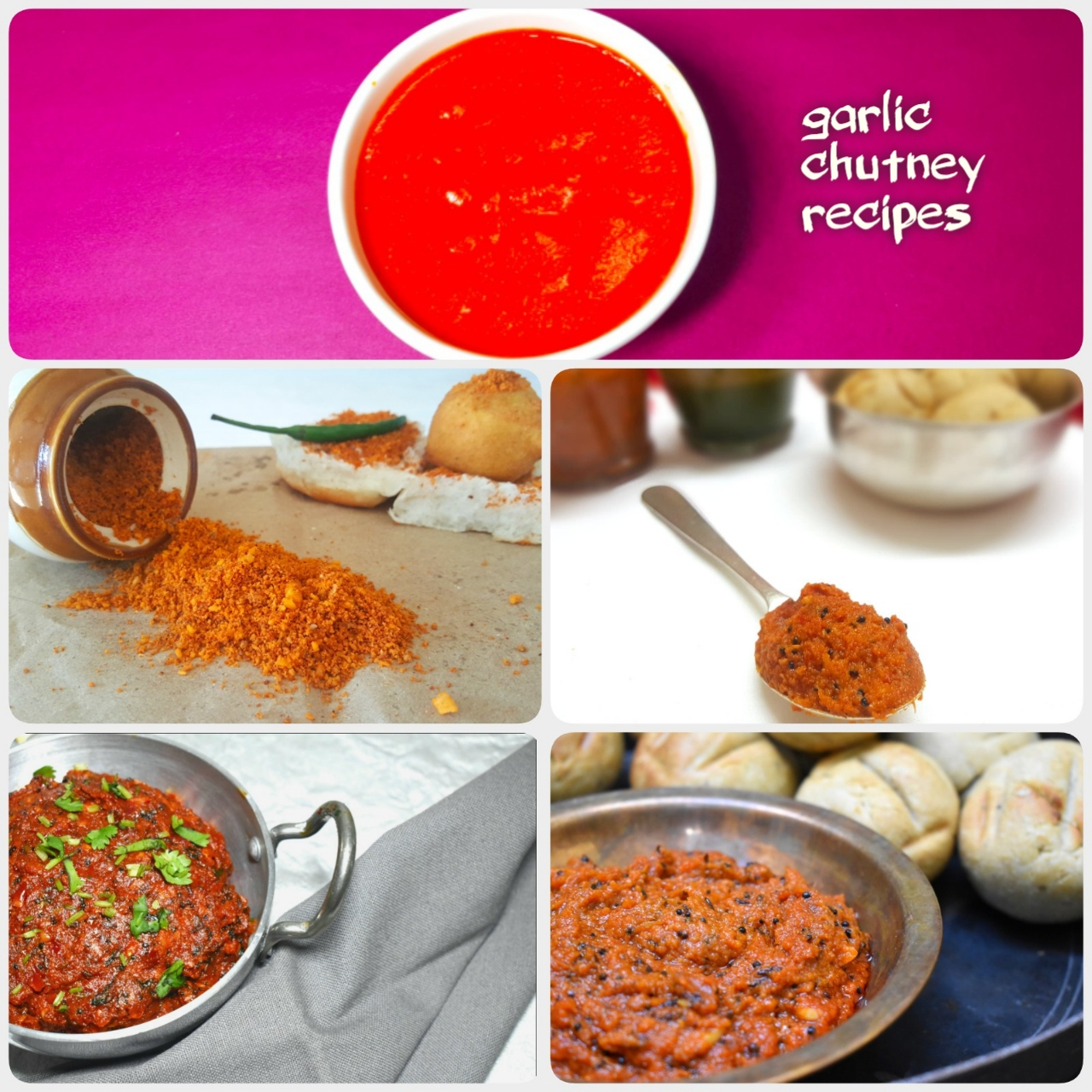 garlic chutney recipes