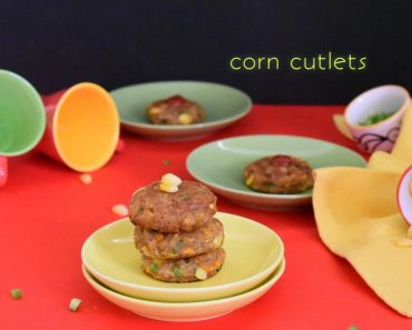 corn cutlet recipe