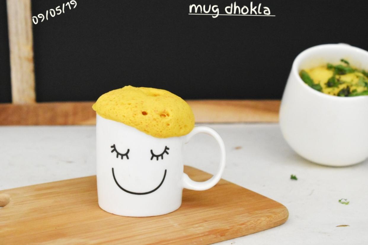 mug dhokla recipe
