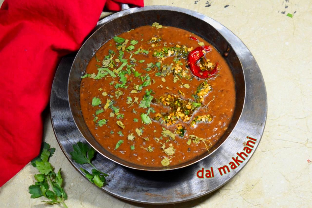 healthy dal makhani recipe