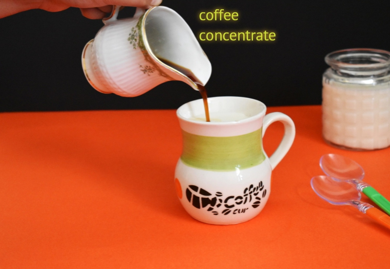 coffee concentrate