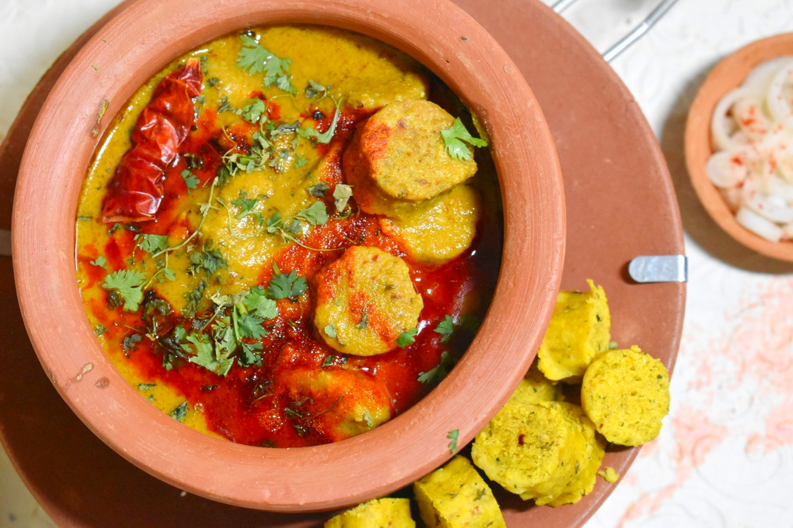 dhaba style gatte