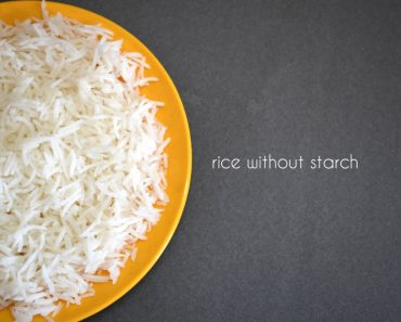 rice without starch