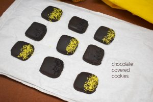 chocolate covered cookies