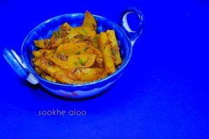 Sookhe Aloo ki Sabzi