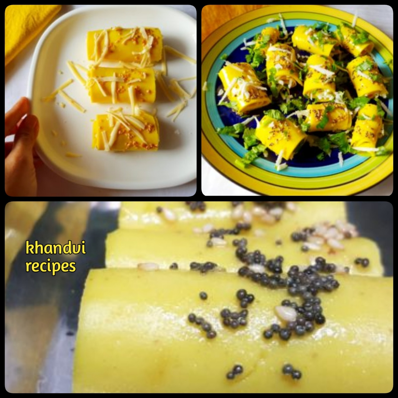 khandvi recipes