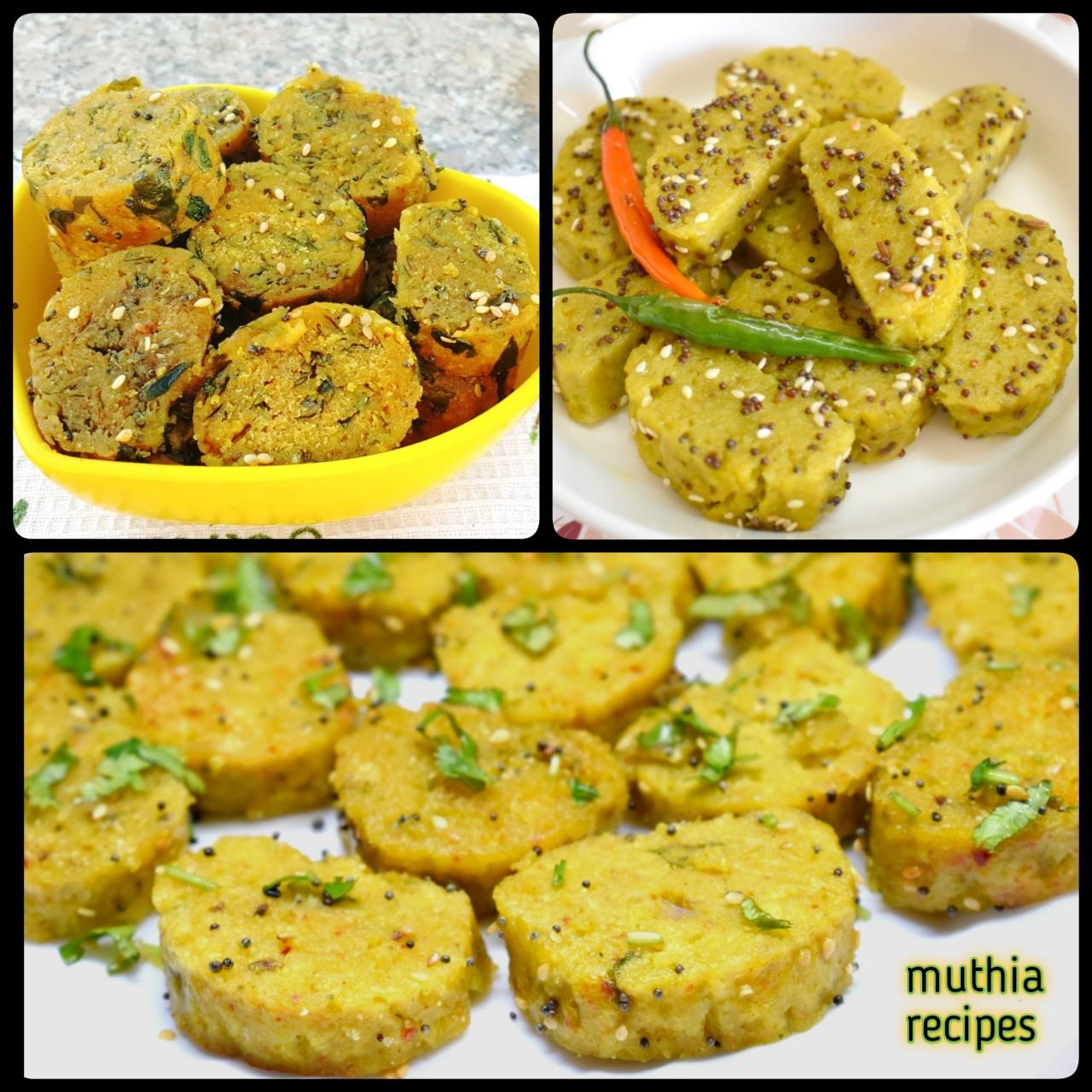 muthia recipes