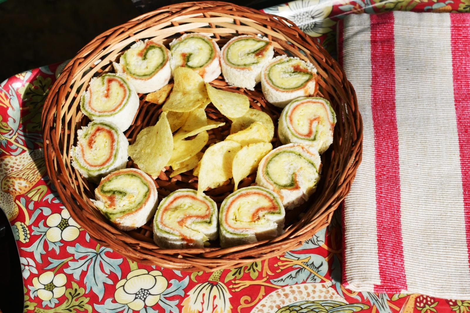 easy pinwheel sandwich