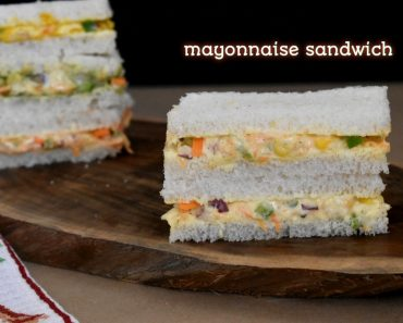 mayonnaise sandwich