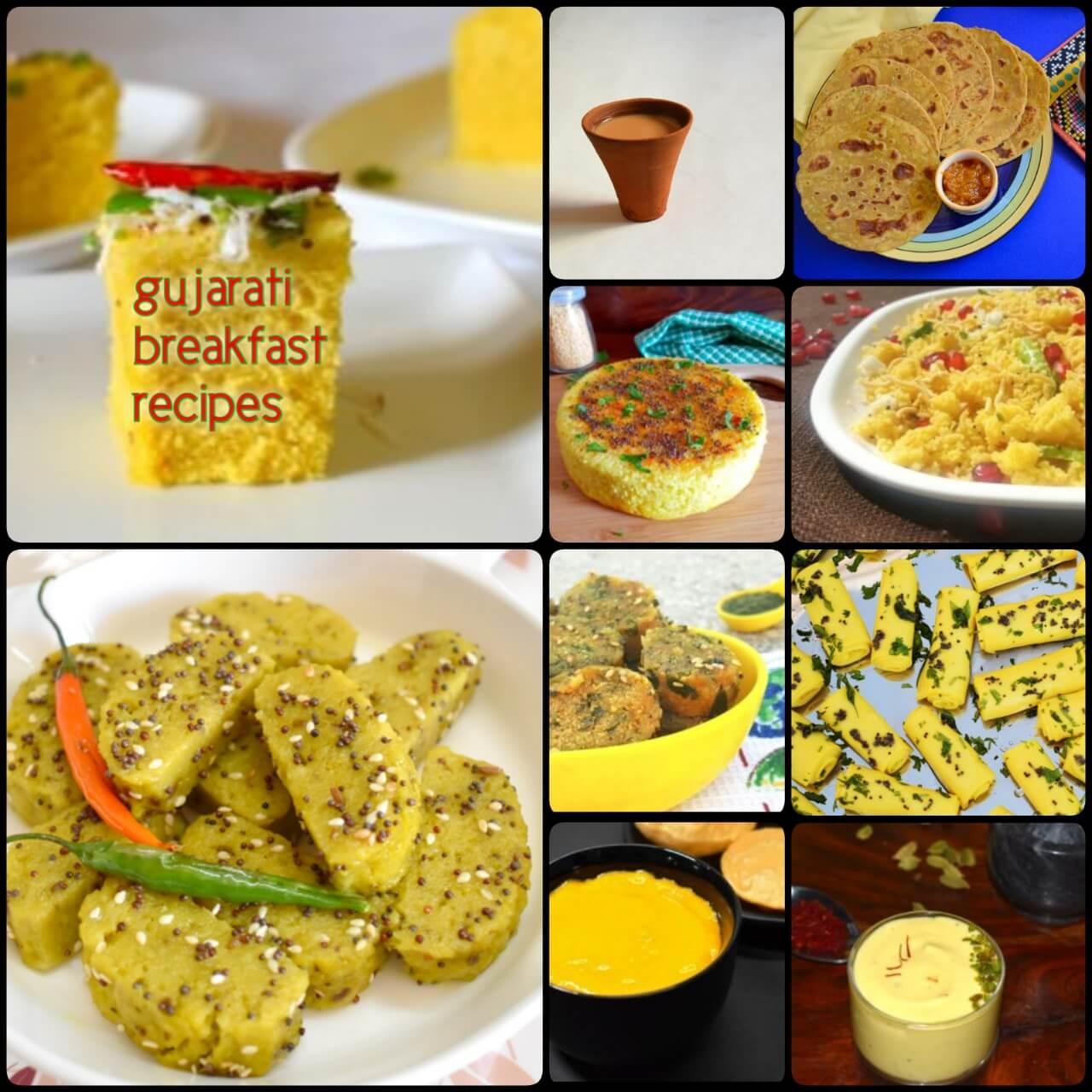 Gujarati Breakfast Recipes