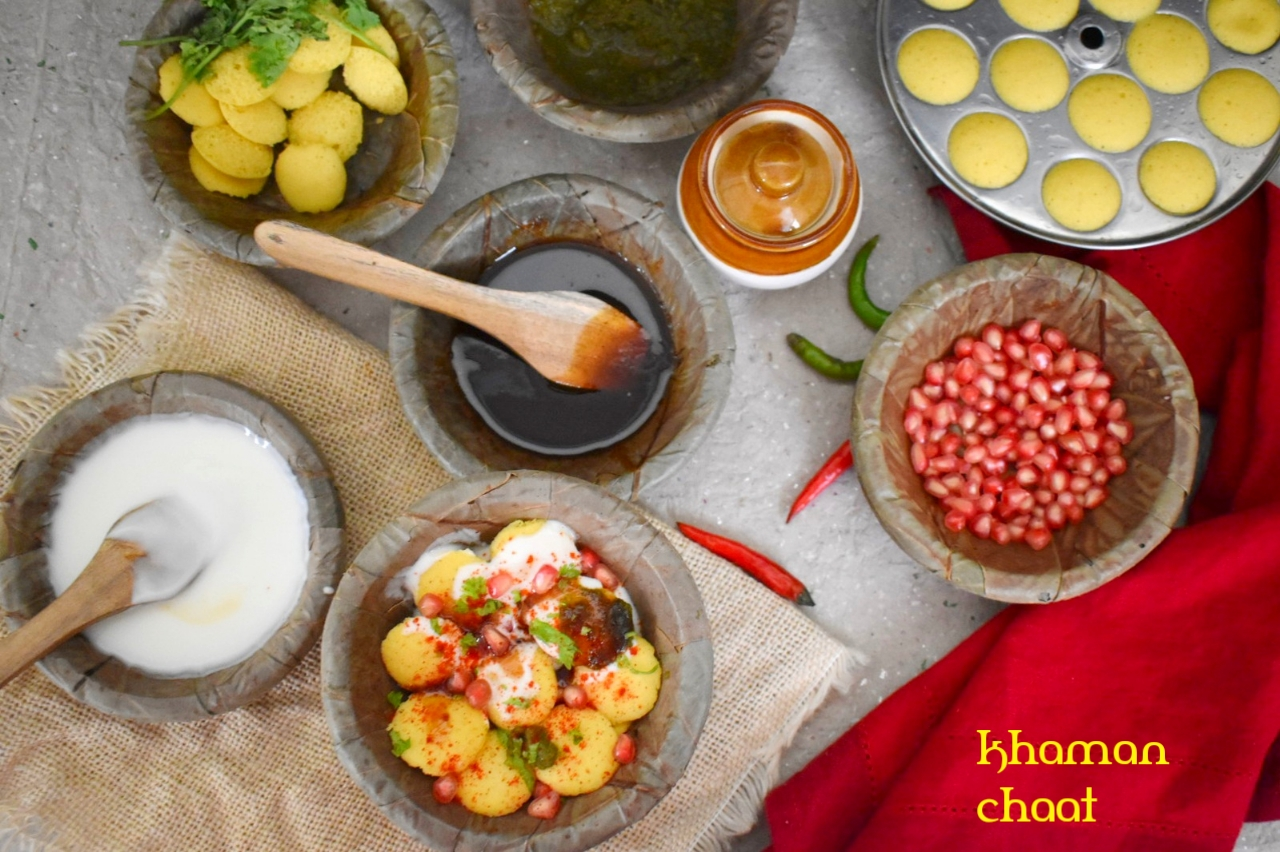 khaman chaat
