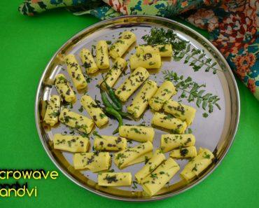 microwave khandvi
