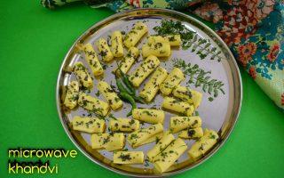 microwave khandvi recipe