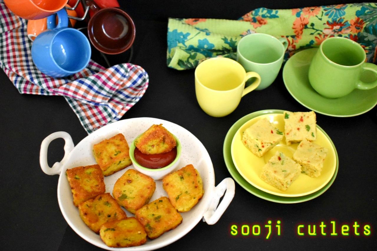 Sooji cutlets