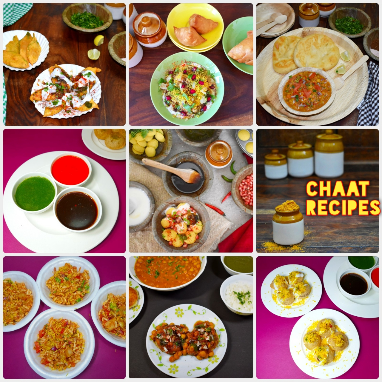 chaat recipes